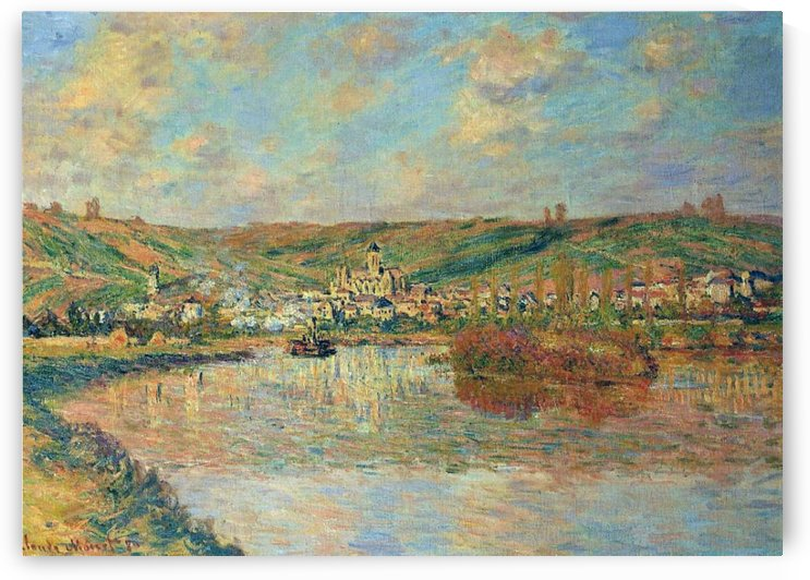 Late Afrternoon, Vetheuil by Claude Monet