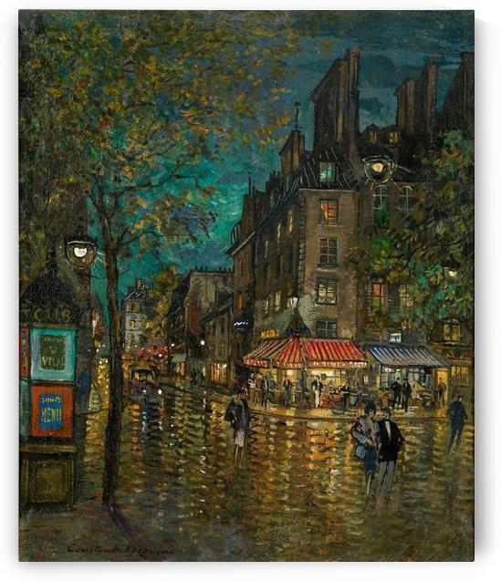 Parisian Boulevard 02 by Constantin Korovin