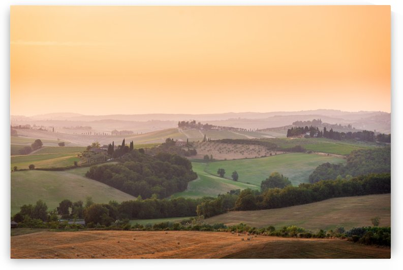 Tuscany Sunset by Andrea Spallanzani