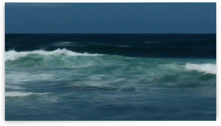 Abstract Waves In Motion by Linda Peglau