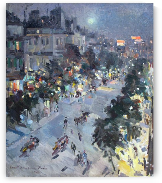 Evening in Paris by Constantin Korovin