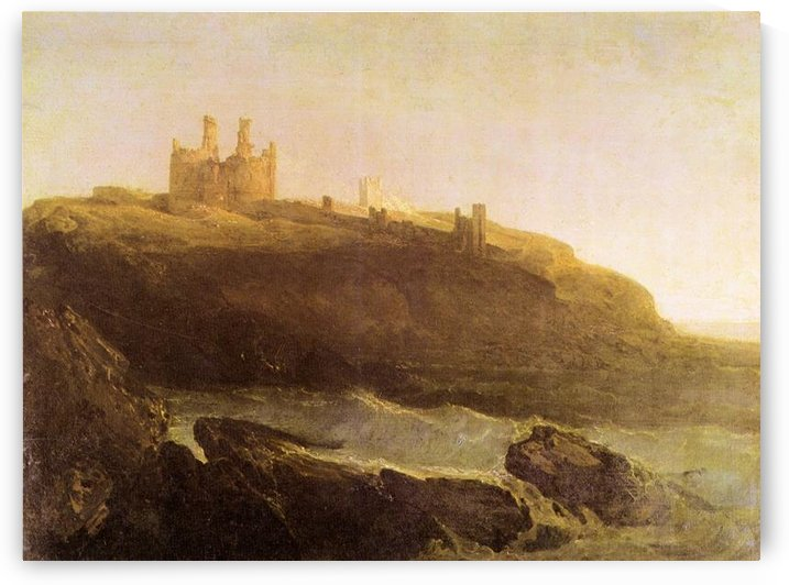 Dunstanborough Castle by Joseph Mallord Turner by Joseph Mallord Turner