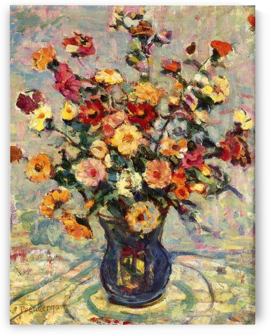 Still Life with Flowers by Constantin Korovin