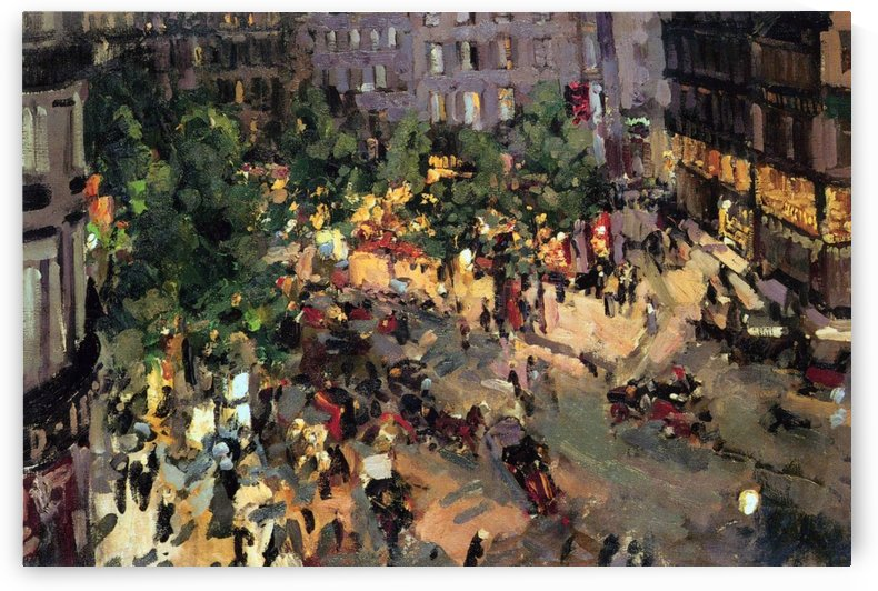The Boulevard of Capucines by Constantin Korovin