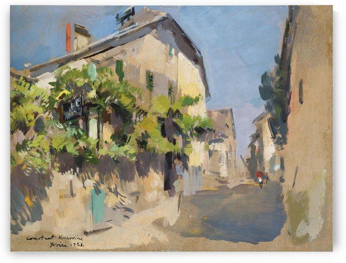 View of Valencia by Constantin Korovin