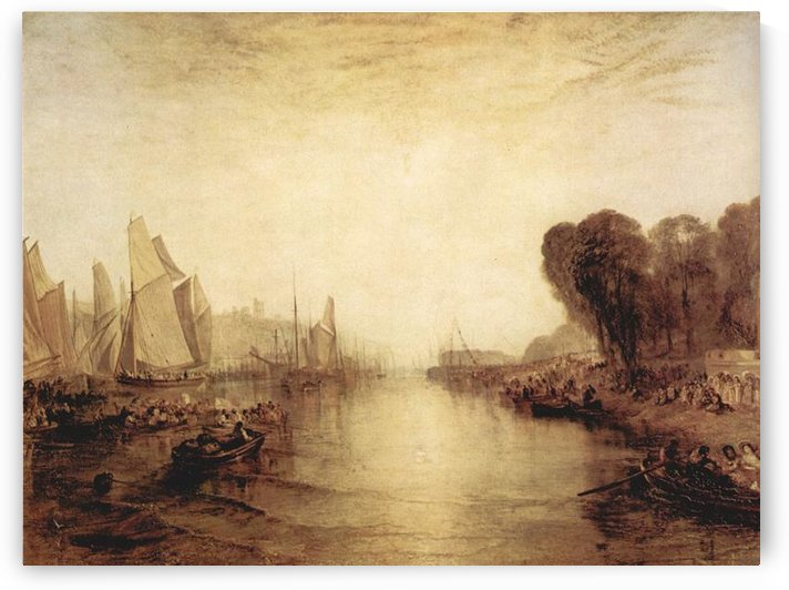 East Cowes Castle by Joseph Mallord Turner by Joseph Mallord Turner