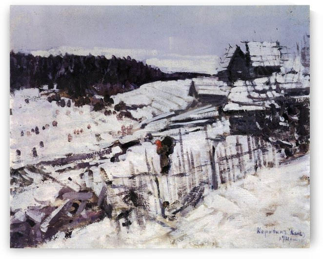 Late Winter by Constantin Korovin