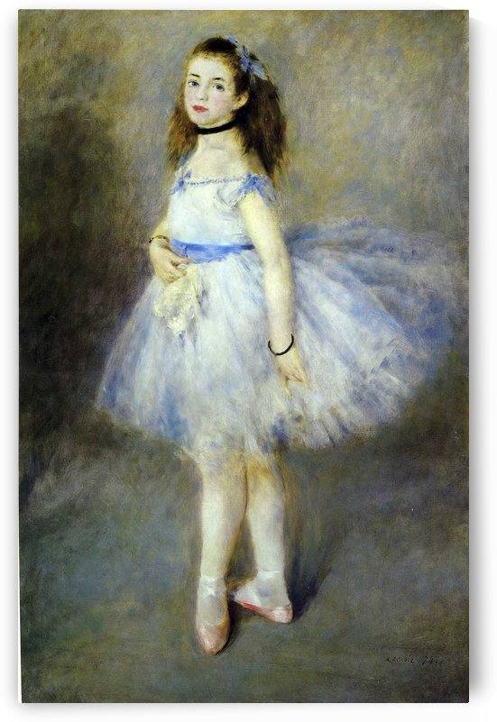 Portrait of a Dancer by Constantin Korovin