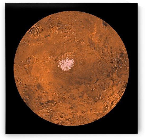 Mare Australe region of Mars. by StocktrekImages