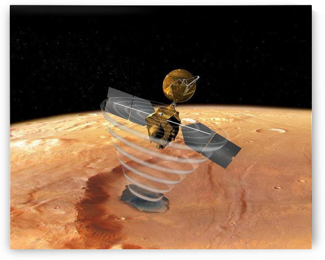 Mars Reconnaissance Orbiter by StocktrekImages