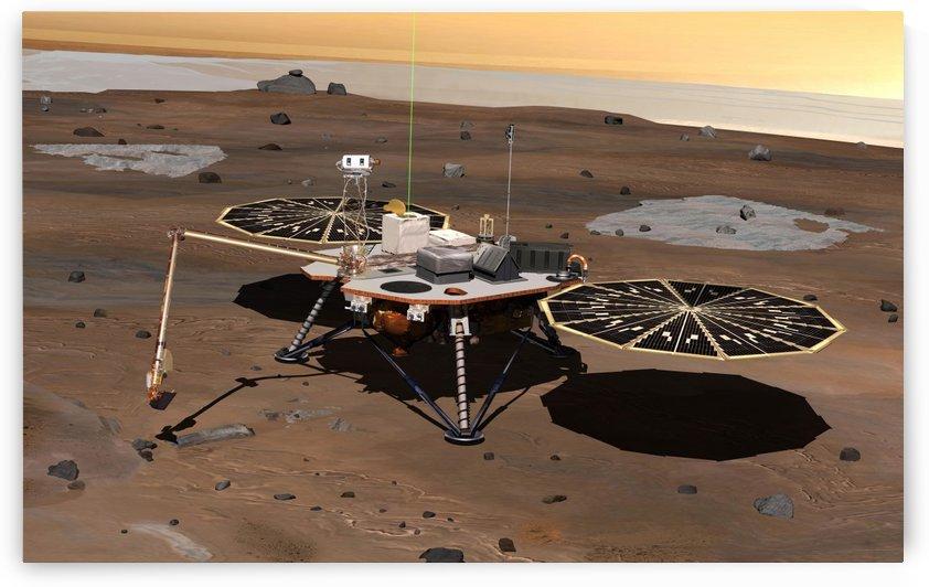 Phoenix Mars Lander by StocktrekImages