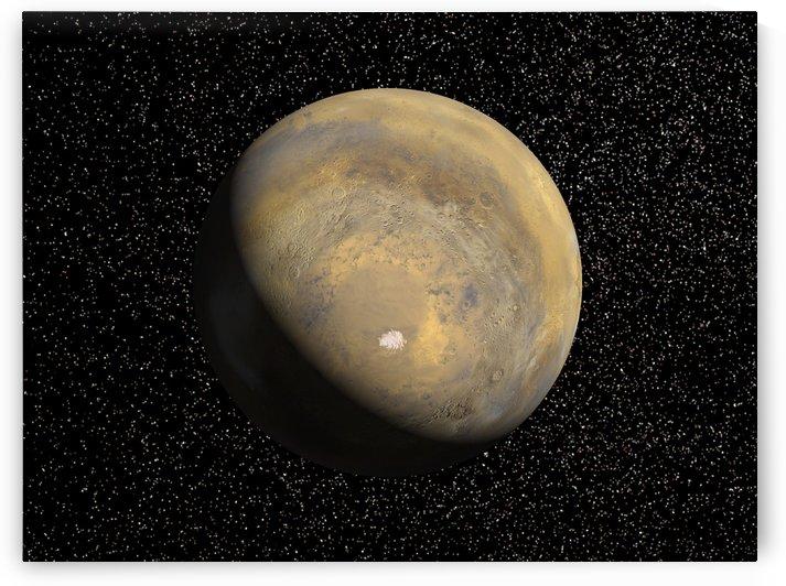 Global view of Mars by StocktrekImages