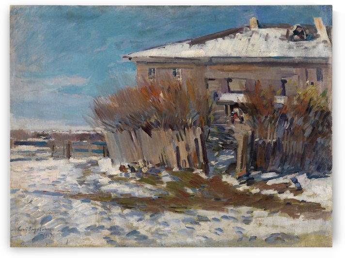 View of Okhotino by Constantin Korovin