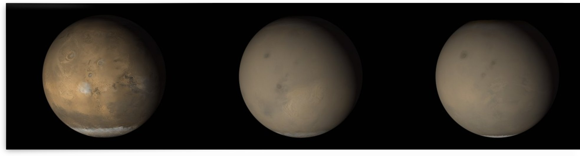 The 2001 Great Dust Storms on Mars. by StocktrekImages