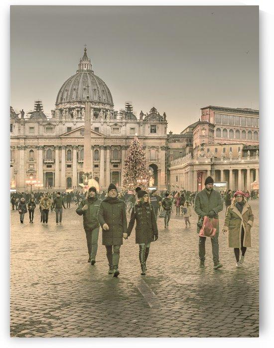 Conciliazione Street, Rome, Italy by Daniel Ferreia Leites Ciccarino