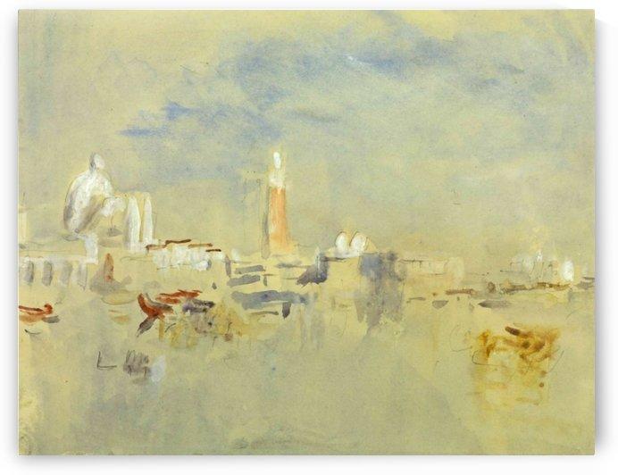Venice, the Salute by Eugene Boudin