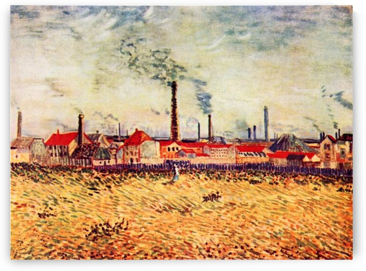 Factories by Van Gogh by Van Gogh