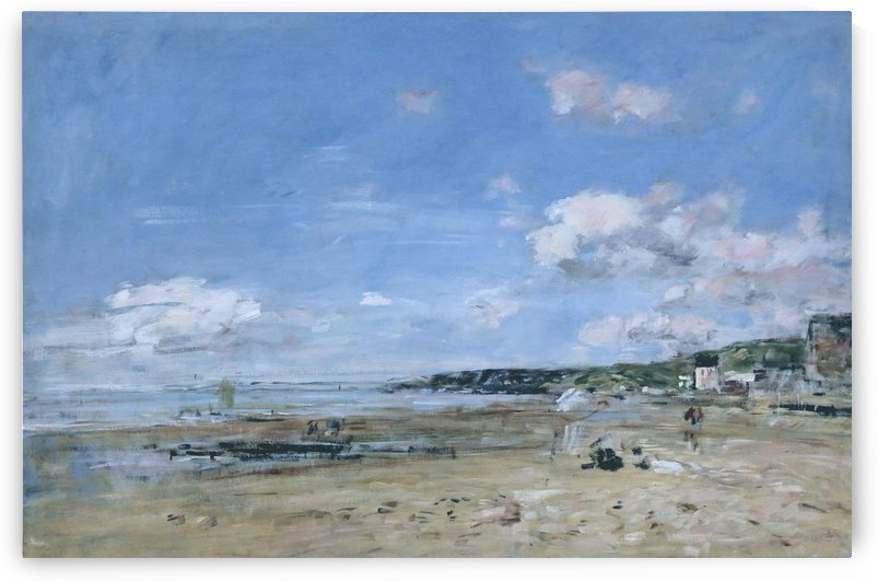 Storage Pond at Trouville by Eugene Boudin