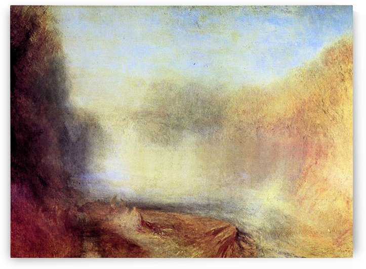 Falls of the Clyde by Joseph Mallord Turner by Joseph Mallord Turner