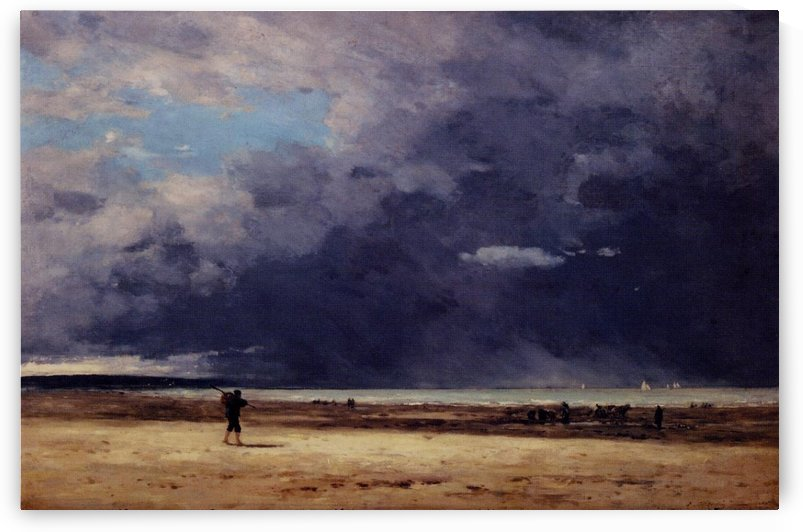 Deauville by Eugene Boudin