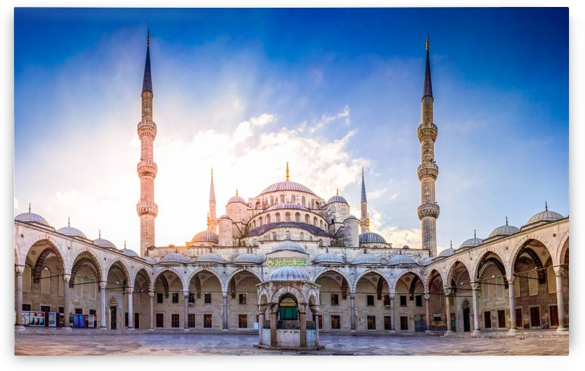 The Blue Mosque by zoltanduray