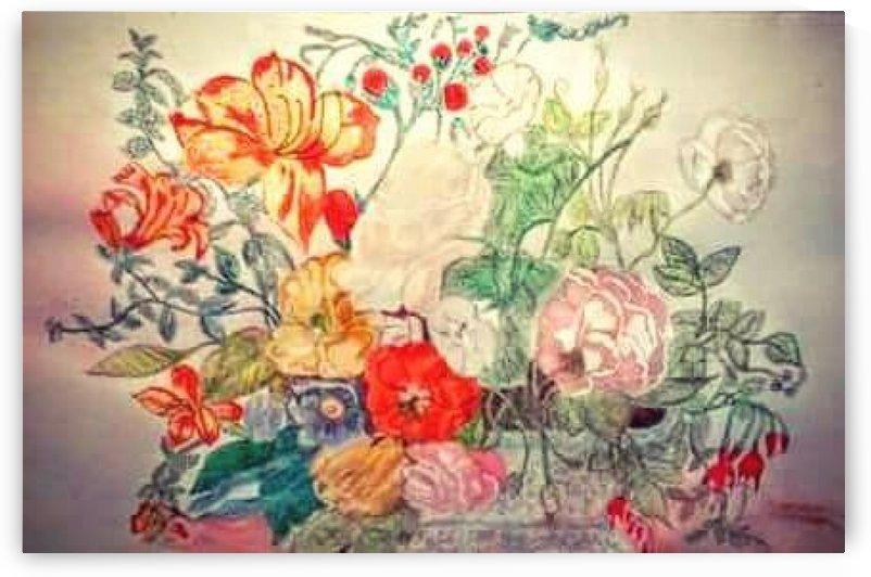 Bouquet of 10000 Colors by Jennifer Lawson