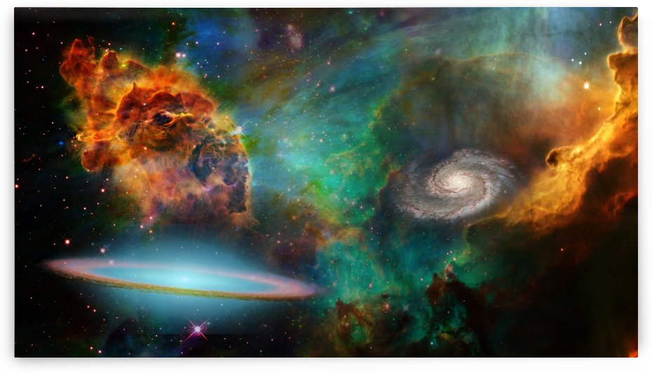 Deep Space by Bruce Rolff