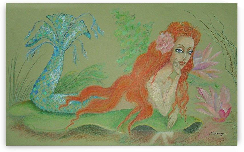 Sea Siren Resting  by Jayne Somogy