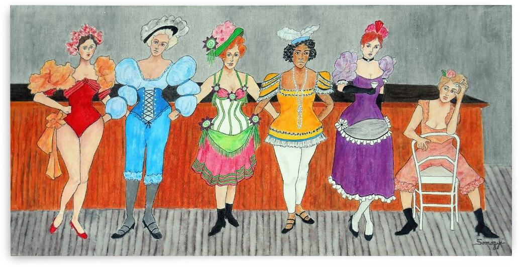 Saloon Sextet by Jayne Somogy