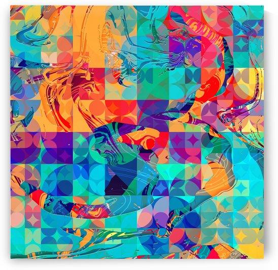 Geometric X by Art Design Works