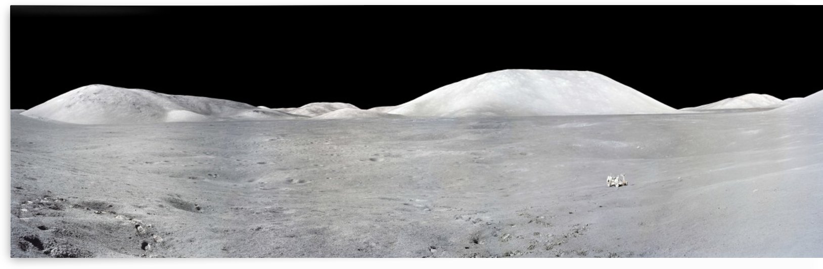 Apollo 17 Panorama by StocktrekImages
