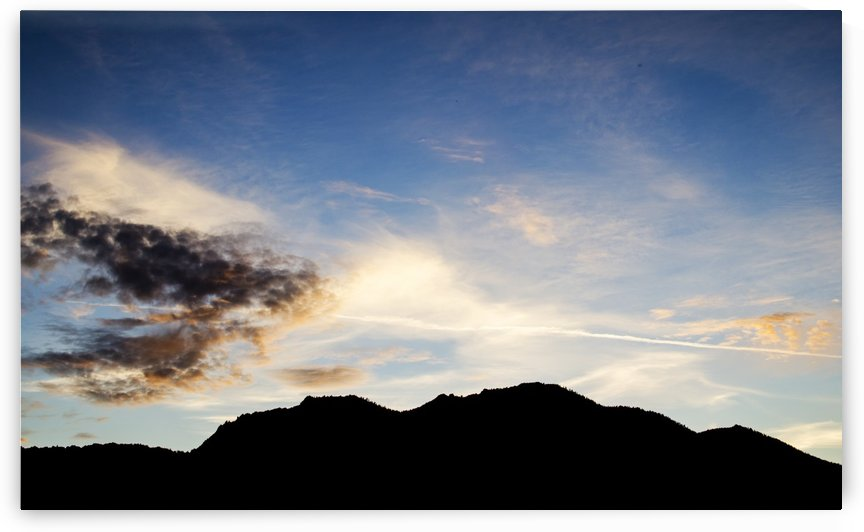 Sunset Sky by Vlad Kochanzhi