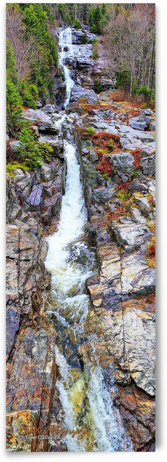 Silver Cascade Falls - APC-273 by Artistic Photography