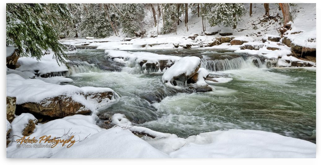 Buttermilk Falls - AP 4106 by Artistic Photography