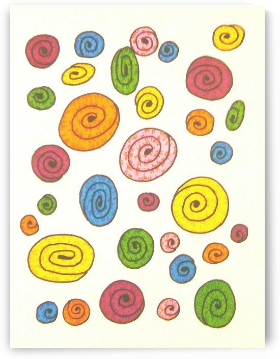Vibrarnt Snail Shells by SarahJo Hawes