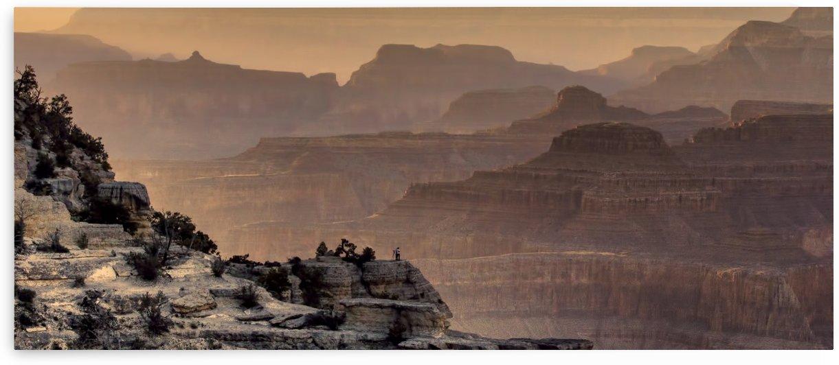 Rustic Grand Canyon  by Chuck Kuhn