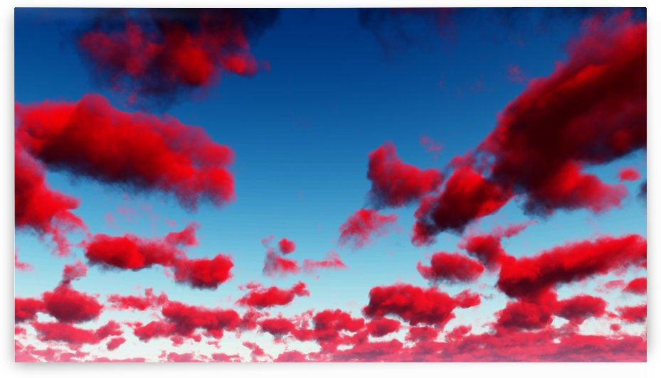 Deep Red Clouds by Bruce Rolff