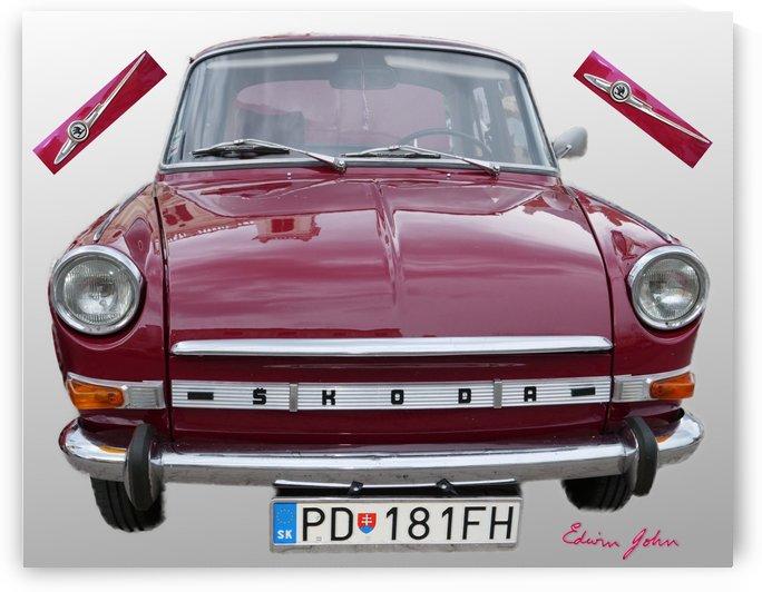 Škoda 1000 MBX a vintage restored veteran by Edwin John