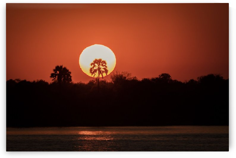 Sunset of Zimbabwe by JADUPONT PHOTO
