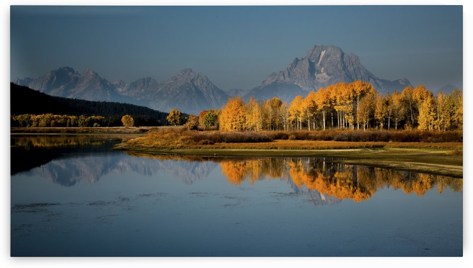Grand Teton - Fall by JADUPONT PHOTO