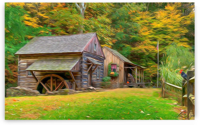 Fall on the Farm  by AMANDA WYN CHANCE