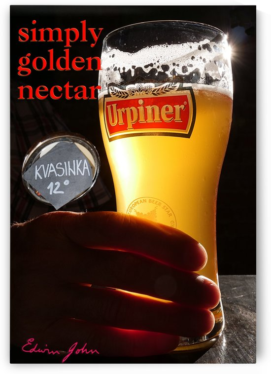 Simply Golden Nectar Urpiner Beer brewed in Banska Bystrica by Edwin John