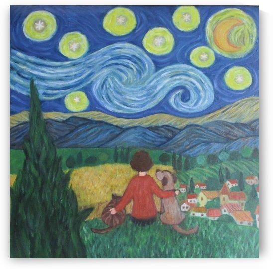 starry night by Gloria Gill