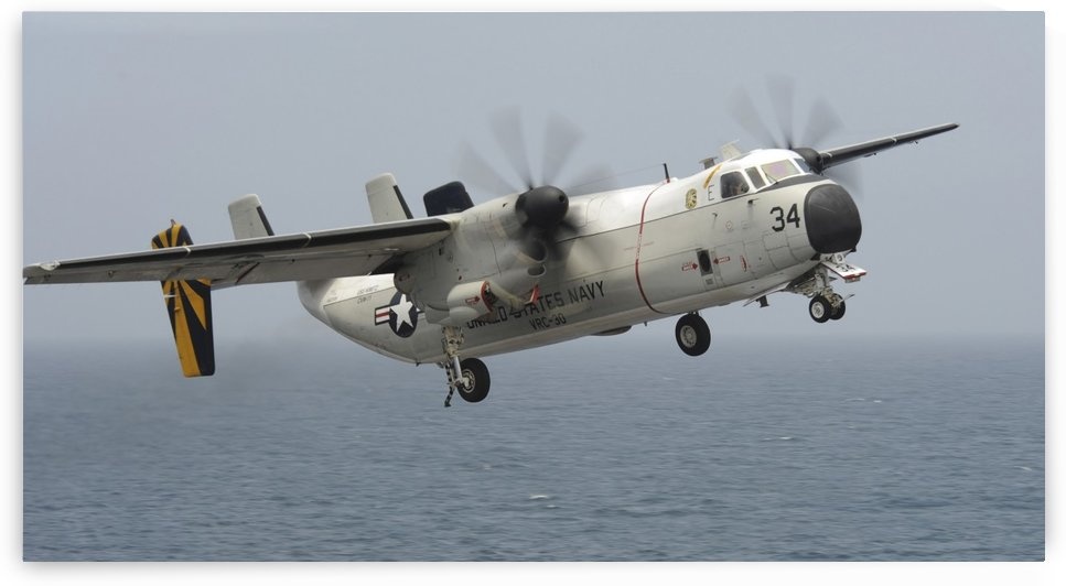 A C-2A Greyhound in flight. by StocktrekImages