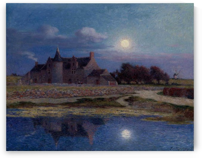 Kervaudu under the Clear Moon by Ferdinand du Puigaudeau