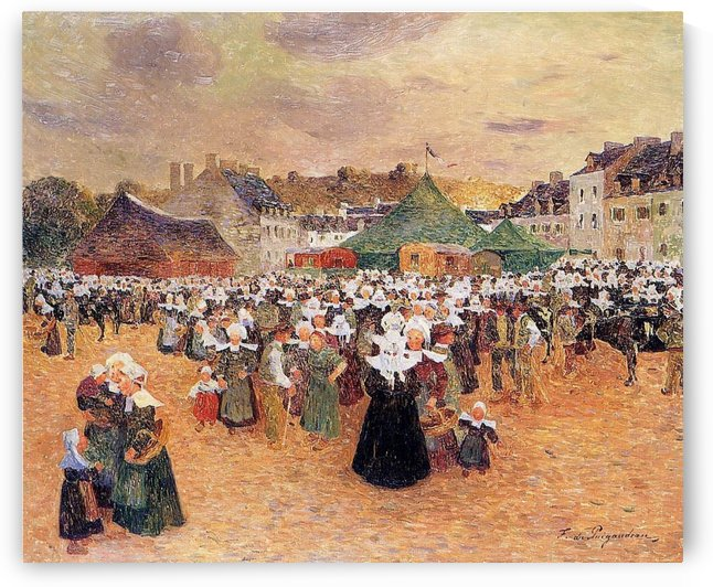 The Fair Festival by Ferdinand du Puigaudeau