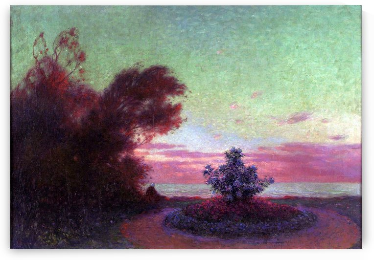 The Seashore at Twilight by Ferdinand du Puigaudeau