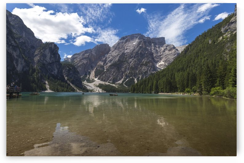 Lake of Braies by Pietro Ebner