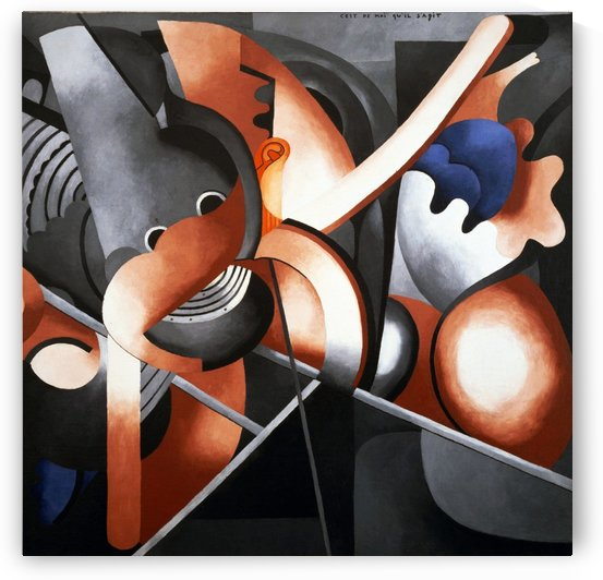 This Has to Do with Me by Francis Picabia