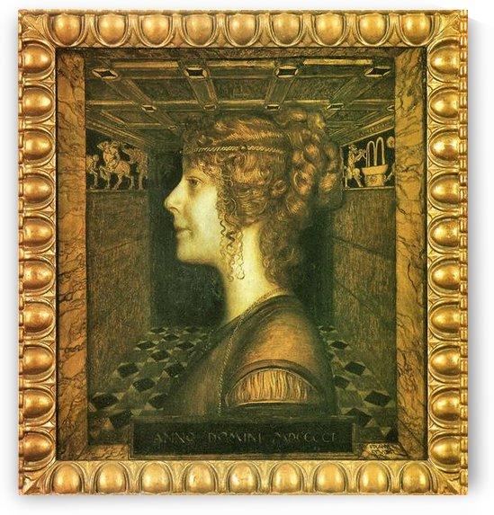 Florentine by Franz von Stuck by Franz von Stuck